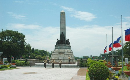 famous park in manila