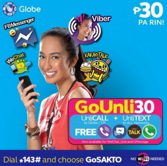 The Latest Prepaid Promos from Globe - Send Load to the Philippines